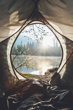 Glamping :: Camping Adventures :: Tents + Teepee :: Beach + Under the stars :: Wanderlust :: Gypsy Soul :: Outdoor travel Ideas + Inspiration Camping And Hiking, Camping Life, Backpacking, Lake Camping, Camping Cabins, Camping Glamping, Camping Hacks, Campsite, Adventure Awaits