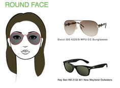 If you have a round face, wide rectangular frames are perfect!