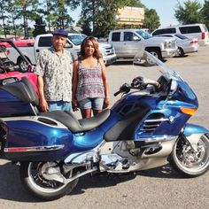 Thanks to The Gardners from Magnolia MS for getting a 2008 BMW 1200 LT at Hattiesburg Cycles