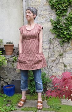 Posts about Simplicity 1080 on frayedbanana Sewing Aprons, Sewing Clothes, Diy Clothes, Frock Patterns, Clothing Patterns, Washi Dress, Dottie Angel, Angel Dress, Granny Chic