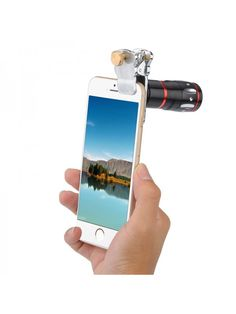Universal 4-in-1 Cell Phone Lens Kit (Silver) Phone Lens, Best Smartphone, 4 In 1, Mobile Photography, Wide Angle, Cell Phone Accessories, Lenses, Good Things, Engagement Rings