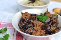 Delicious Andhra Style Stuffed Eggplant Curry aka Gutti Vankaya.