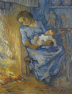 Vincent van Gogh - L'Homme est en mer, 1889, oil on canvas