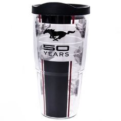 50 Years Mustang Tervis® Tumbler http://shop.crackerbarrel.com/50-Years-Mustang-Tervis-Tumbler/dp/B00FY1Y9B6