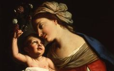 Elisabetta Sirani, Virgin and Child, 1663 (nmwa.org, National Museum of Women in the Arts)
