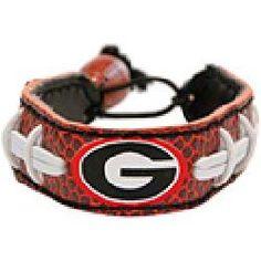 Gamewear Georgia Bulldogs Authentic Football Bracelet