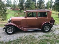 Well built 1930 Ford Model A sedan. 302 Ford with AOD transmission. Verde Island, Old Race Cars, Ford Models, Uganda, Trinidad And Tobago, Hot Rods, Classic Cars, Ebay, Cars