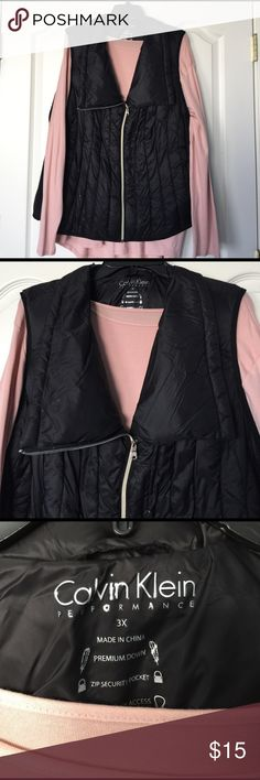 Reserved for Gerilyn Calvin Klein down vest. Small imperfection on front shown in picture 5. Calvin Klein Jackets & Coats Vests