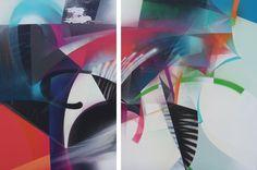 RAPHAEL BORER AND LUKAS OBERER - BESTES LEBEN - ARTSTÜBLI  http://www.widewalls.ch/artwork/raphael-borer-and-lukas-oberer/bestes-leben/ #painting