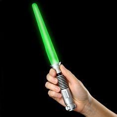 Light Saber Popsicle. Click on the picture and watch the video on the ThinkGeek website. Download the ice cream truck music!