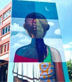Street Art by Seth, located on Reunion Island
