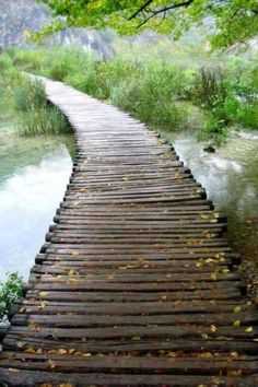 I've run across mini wooden bridges like this, and every time I feel so awesome. Find one and try it! #run #outdoors