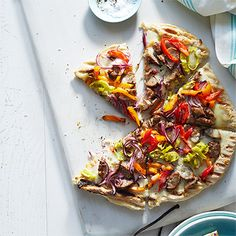 Grilled Sausage and Pepper Pizza - Woman's Day