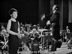 "Maria Callas Gianni Schicchi ""O mio babbino caro'' 1965"
