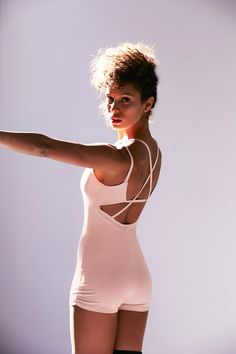 Add a hefty dose of style to your usual yoga uniform with this modern spin on a leotard. Find out where to get it at YOGAJOURNAL.COM