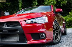 Mitsubishi Lancer Evolution Photo Shoot