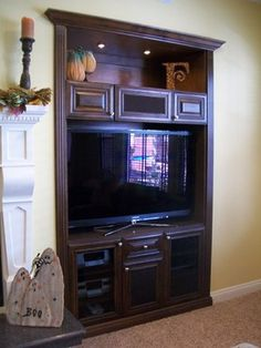 Media Niches - traditional - Home Theater - Orange County - CustomBuilt-ins.com / CFM Company Inc.