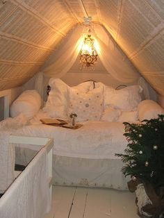 I want just this as my bedroom and my current bedroom as a giant walk in wardrobe... Heaven!