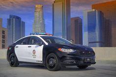 Ford : des voitures de Police hybrides taillées pour la poursuite
