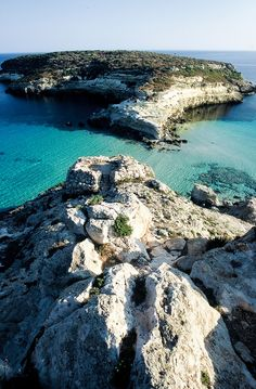 Lampedusa / Isola dei Conigli, Italy right off the coast of SICILY ...about 15 minutes away from my town NBD
