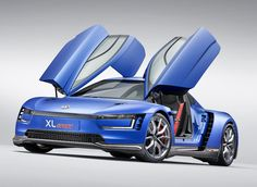 Ahead of the Paris motor show, Volkswagen revisited the design of most fuel-efficient production car of all time, the XL1, by fitting it with the world's most powerful two-cylinder engine – a ducati superleggera V-twin power unit.  the premiere of the 'XL sport' pairs a completely new chassis based on motorsports-derived parts and a high-tech engine to create a 197 hp machine capable of reaching 0 to 62 mph in 5.7 seconds and a top speed of 168 mph.