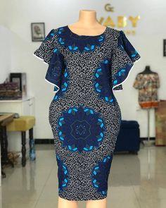 Short African Dresses, Ankara Short Gown Styles, African Print Dresses, Short Dresses, African Fashion Ankara, Latest African Fashion Dresses, African Print Fashion, African Print Dress Designs, African Design