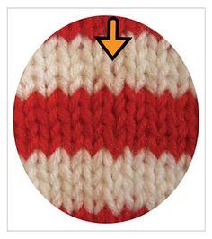 slip stitch jogless stripes!