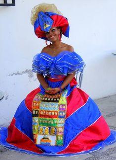 The Haitian culture has so muc My Black Is Beautiful, Beautiful People, Haitian Wedding, America Outfit, Native Wears, Haitian Art, African Diaspora, Black Girl Magic, Traditional Outfits