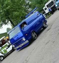 Custom Chevy Van