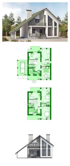Ev villa projesi 170-009-L | House Expert