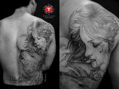 One tattoo from the South Korean Tattoo Scene. Done by Tattoo Prodigy  #tattpp #tattoos #ink