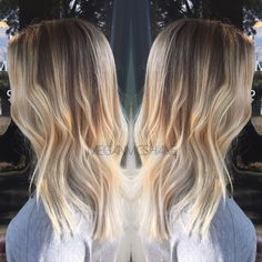 Balayage . Fall hair . Balayage ombré . Smudged root . Shadow root . Texas hairstylist . Ombré . Balayage hair . Hair By Megan McShane
