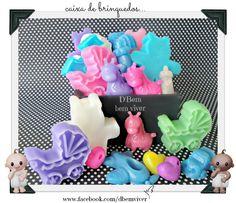 Caixa de brinquedos- sabonete
