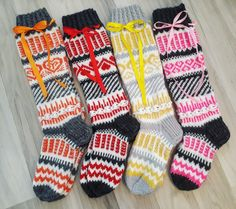 Together Making Yourself: Always so lovely Anelmainen - Super knitting Wool Socks, Knitting Socks, Crochet, Projects To Try, Make It Yourself, How To Make, Handmade, Crafts, Ideas