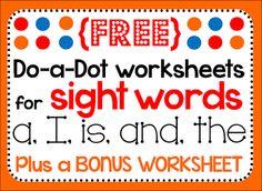 bingo dot marker   dot markers do-a-dot pages bingo preschool pre-k kindergarten ...