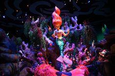 New Ariel attraction - Emily can't wait to ride it! magic kingdom, disney ride, disneydream work, the little mermaid, mermaid ride, california adventur