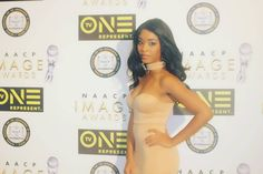 My look for the red carpet! 😎  Grateful to be at the NAACP Image Awards Luncheon, among so many beautiful and creative minds =) #naacpimageawards #NAACP #loewshollywood #redcarpet #actors #Hollywood #youngboldandregal #blackgirlmagic