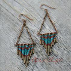 Ashley Boots Raven Earrings