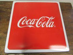 Coca Cola Metal Table Porcelain Top #4-Mexican-Restaurant Bar-Coke-Great Shape