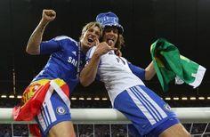Fernando Torres and David Luiz  Chelsea