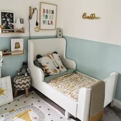 394 Likes, 5 Comments - Kids Decor Boy Toddler Bedroom, Toddler Rooms, Baby Bedroom, Girls Bedroom, Bedroom Decor, Ikea Childrens Bedroom, Bedroom Furniture, Ikea Bedroom, Kid Furniture