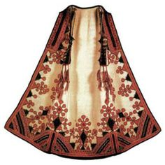 Zubun, a type of long vest, is one of the most beautiful and most meticulously decorated garments of Serbian national dress.