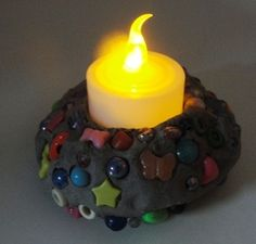 We used this idea for VBS -the word of God is our light. Also a neat camp craft idea