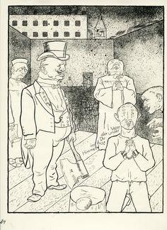 George Grosz Das Vaterunser (1921)
