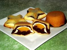 Czech Recipes, Ethnic Recipes, Dessert Recipes, Desserts, Sushi, Muffins, Eggs, Sweets, Cookies
