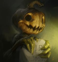 Pumpkin, Logan Preshaw on ArtStation at https://www.artstation.com/artwork/xKax2