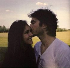 Ian and Nina ❤️Nian❤️ Damon Salvatore Vampire Diaries, Ian Somerhalder Vampire Diaries, The Vampire Diaries 3, Vampire Diaries Wallpaper, Vampire Diaries The Originals, Damon Salvatore Tumblr, Nina Dobrev Vampire Diaries, Stefan Salvatore, Elena Damon