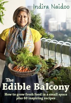 edible balcony garden-perfect for apartment living. I need this book!
