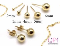 Nugget Bead 14kt Gold Filled 10mm Jewelry Components 6 pcs