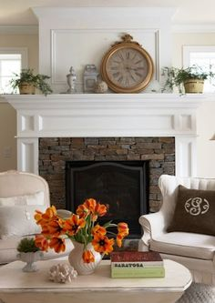 cozy ideas for your mantel